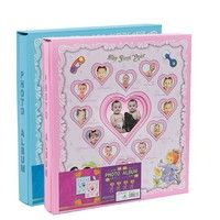 Wish | Baby Photo Album 98 Photos Pocket Memory Book  Baby Albums