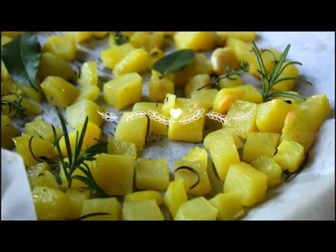 Patate al forno croccanti - YouTube