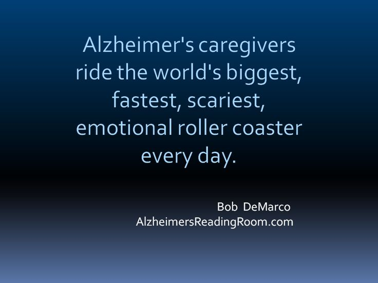 alzheimer's caregivers