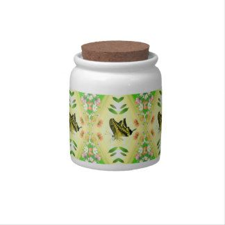 Summer Lover Butterfly Candy Jars