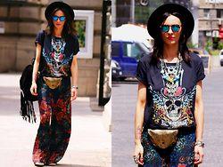COSMINA  PASARIN - H&M Pants, Zara Hat - HaiHui
