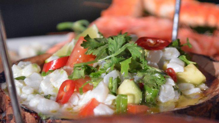 Ceviche på torsk