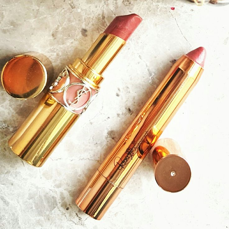 YSL Rouge  Volupte Shine No 9 Nude in Private and Rosie for Autograph Supermodel Smile  gailhenderson.blog