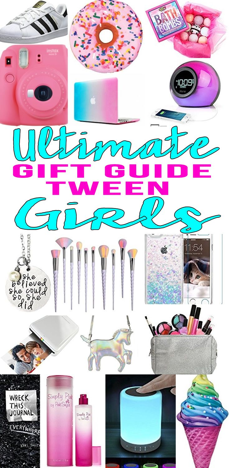 Gifts Tween Girls WILL LOVE! Amazing gift ideas for girls - great for tweens, pre teens and teens. Fun products for tweens. Perfect for Christmas, birthdays and holidays.