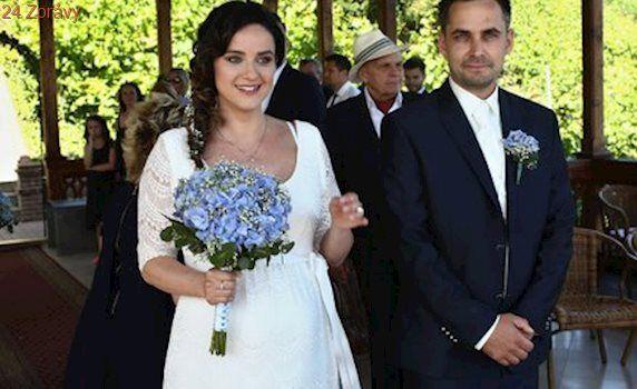 Libuška Vojtková měsíc před porodem: Potřetí se vdala a vzdala se příjmení!
