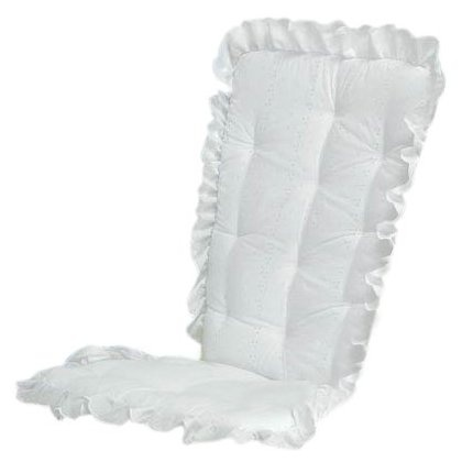 Baby Doll Bedding Carnation Eyelet Rocking Chair Cushion Set White34 best Rocking chairs images on Pinterest   Rocking chair  . Rocking Chair Cushion Sets For Nursery. Home Design Ideas