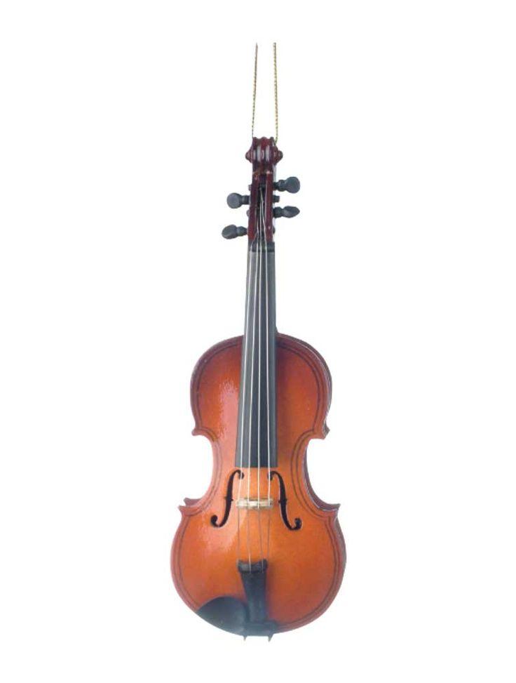 Buy Violin Christmas Ornament   Music Gift   Christmas   Music Ornaments   -