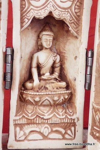 Ritual de meditación portátil TEMPLO ALTAR por EveilOriental
