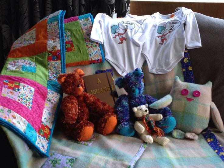 gifts for Britts' twins