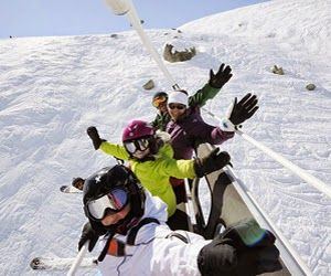Esquiada en el Puente de la Inmaculada en los Alpes Franceses desde 300 Euros con los Forfaits Gratuitos para los Niños