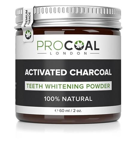 Activated Charcoal Teeth Whitening Powder - cruelty free and Vegan