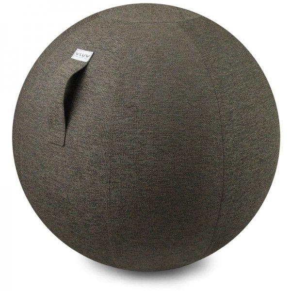 Design Sitzball Stoffbezug greige