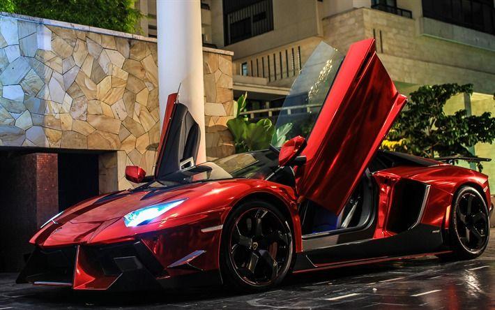 2019 Lamborghini Aventador LP900 SV, 2019 supercar, 2019