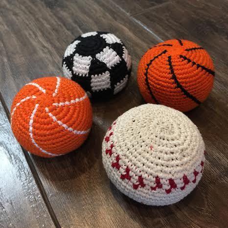 9 best crocheted hacky sack , flying discs etc images on Pinterest ...