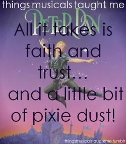Things musicals taught me: Peter Pan