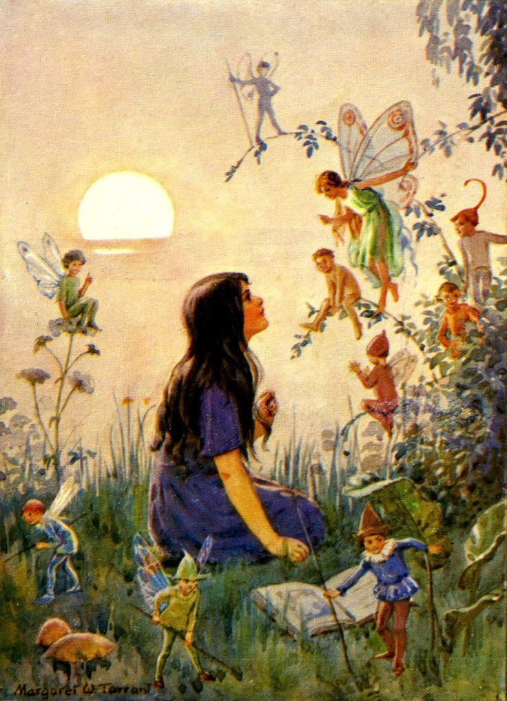 208 Best Margaret Tarrant Fairytale Artist Images On