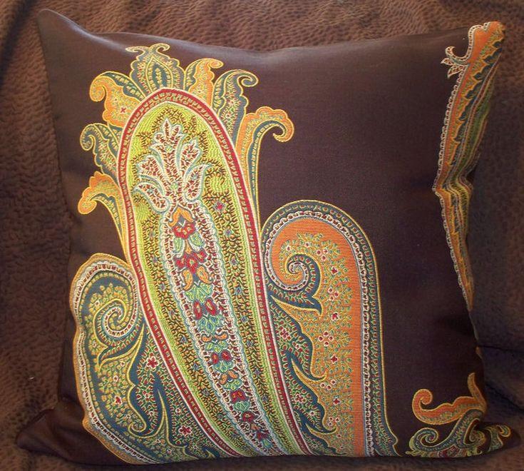 Maharam MASSIVE PAISLEY Modern Mid Century Contemporary Pillow | Home & Garden, Home Décor, Pillows | eBay!