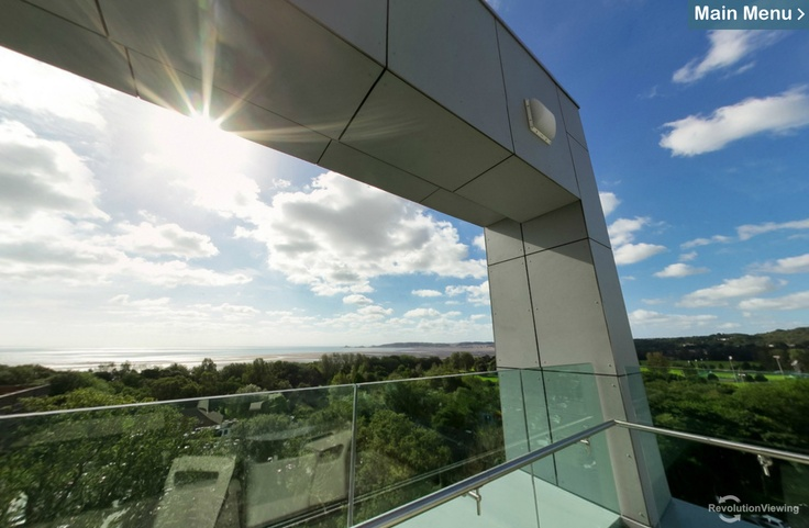 View from 'The Hub', in our Institute of Life Science (http://swansea.ac.uk/virtual-tour)