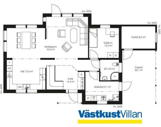 Schwedenhaus grundriss  65 besten Haus/Grundriss Bilder auf Pinterest | Schwedenhaus ...