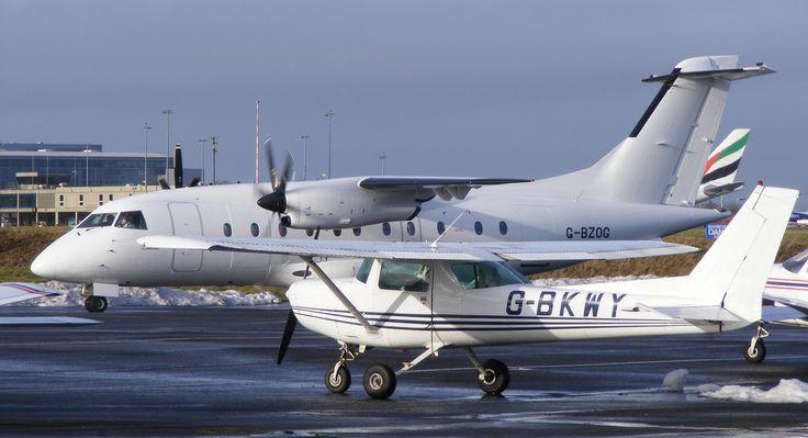 Dornier 328 110 G-BZOG ScotAirways Newcastle Airport   Flickr