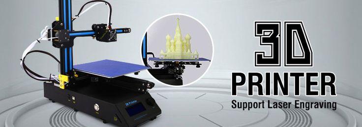 Impresora y Suministros 3D, Impresión de su vida!