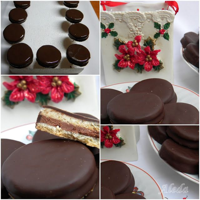 Aleda konyhája: Csokoládé krémes isler