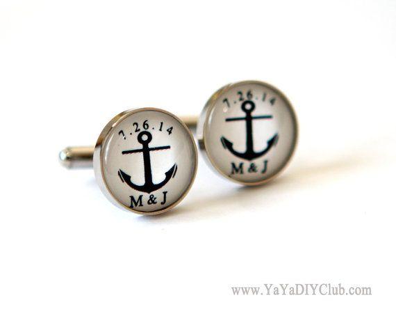 Nautical Wedding Gift for Groom Anchor Wedding Gift by yayadiyclub, $39.00