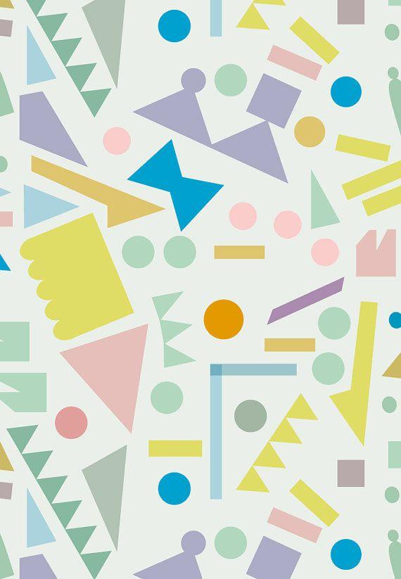 Geometrical Pattern Print by @JudyKaufmann on Etsy, $23.00 #illustration #print #geometric
