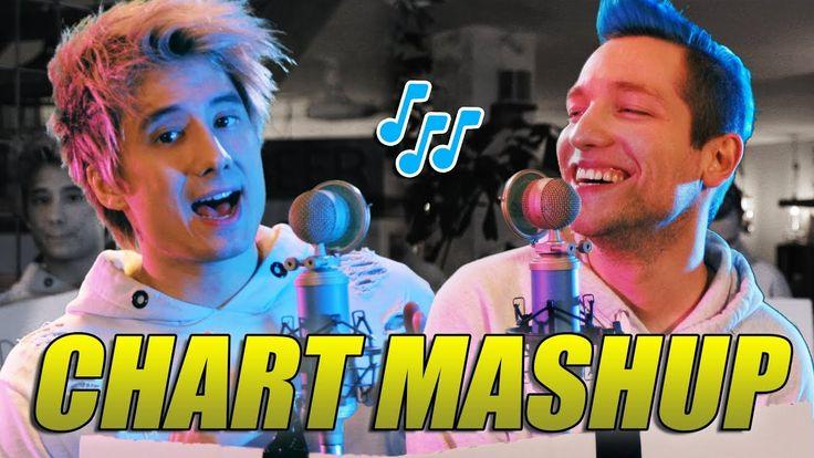 14 Chart Songs in 1 - Mashup mit Rezo | Julien Bam - YouTube