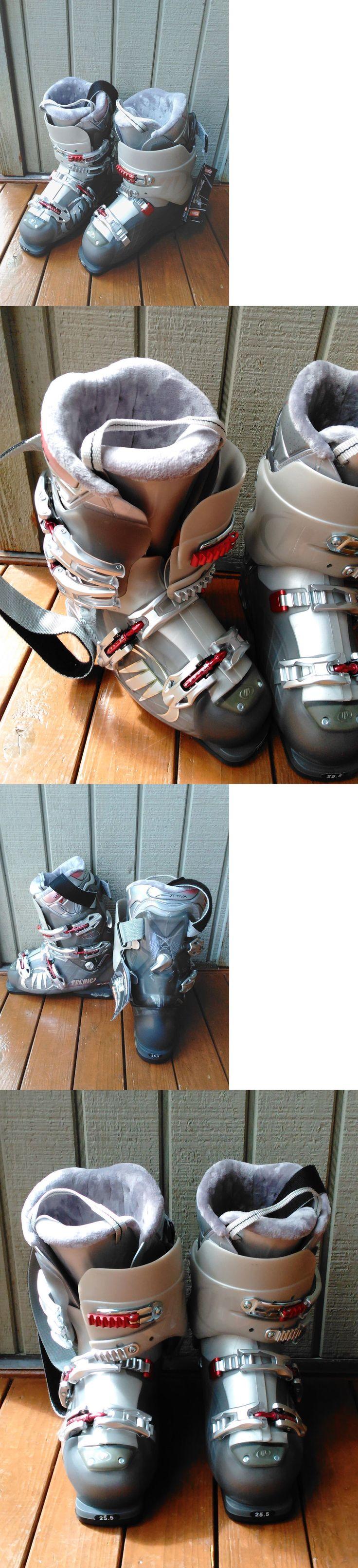 Women 21241: 25.5 Mondo New Tecnica Vento 6 Ski Boots -> BUY IT NOW ONLY: $95 on eBay!