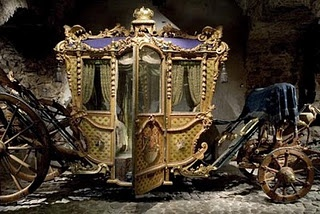 Wow! Cinderella's coach all that's missing is the glass slipper.