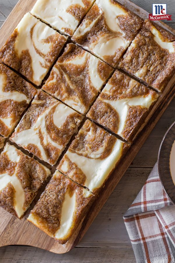 Is it a carrot cake? Is it a cheesecake? It's both! This 2-in-1 Easter dessert recipe swirls the spiced sweetness of traditional carrot cake with a creamy, smooth cheesecake and just a hint of lemon. Go ahead. Try and have just one bar.