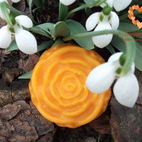 Tavaszi szappankészítés pálmaolaj mentesen, geránium illattal