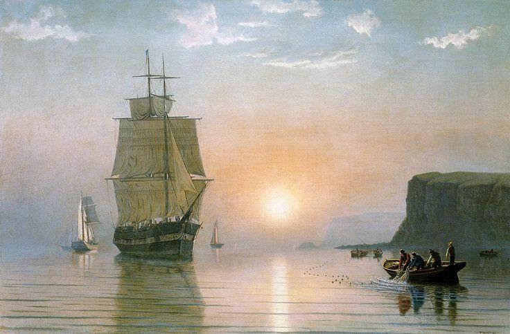 Sunrise off Grand Manan William Bradford (1860)