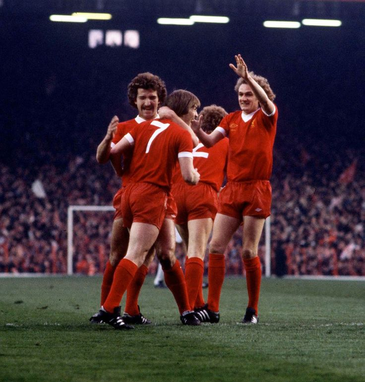 Kenny Dalglish, Graeme Souness and Phil Thompson, 1978