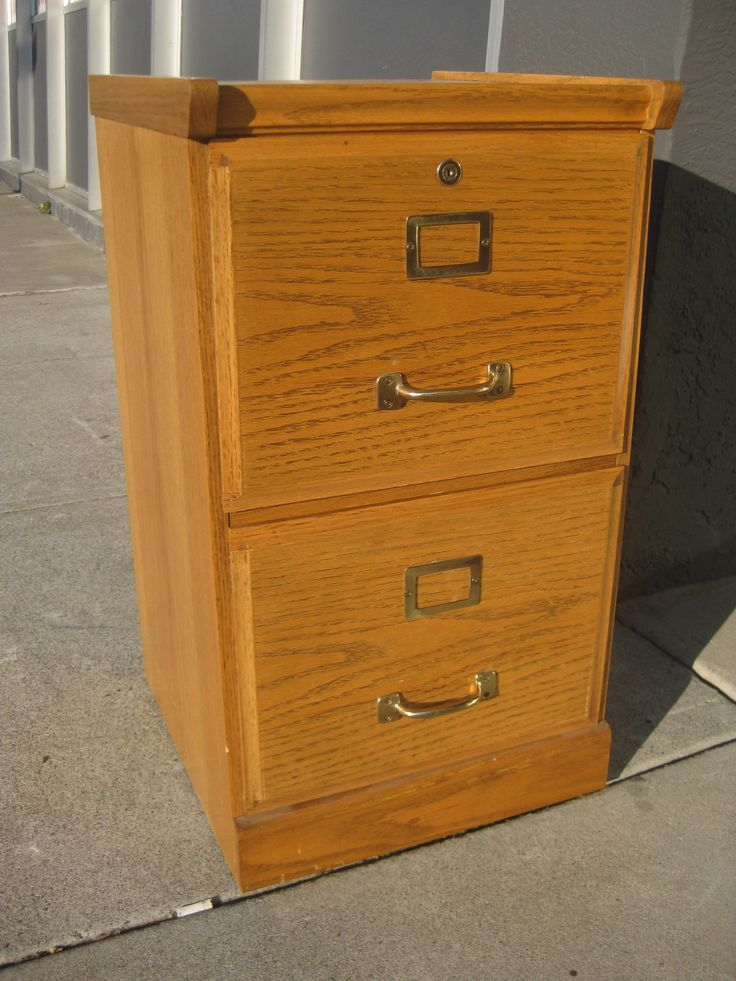 Wooden File Cabinets 2 Drawer