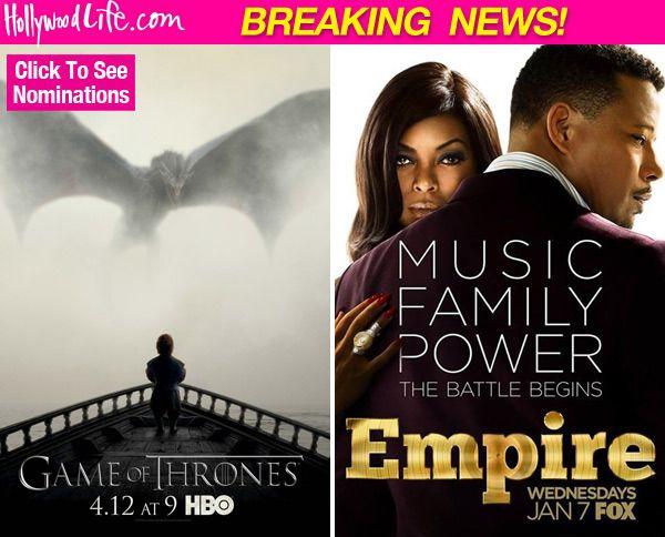 Critics' Choice TV Awards Nominations: 'Empire,' 'Game of Thrones,' &More