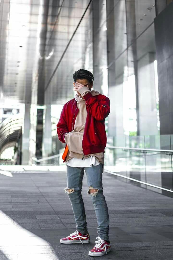 red vans men style \u003e Clearance shop