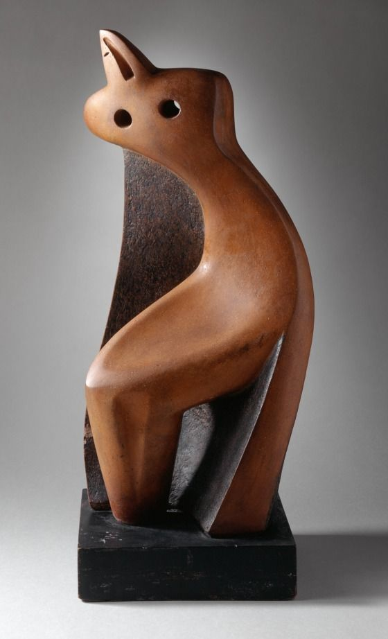 Yellow and Black   LACMA Collections Yellow and Black Alexander Archipenko (Ukraine, active France, Germany, and the United States, 1887-1964) Ukraine, 1938 Sculpture Polychromed terracotta 20 x 7 x 7 5/8 in. (50.8 x 17.78 x 19.37 cm) Gift of Frances Archipenko Gray (AC1993.222.1) Modern Art