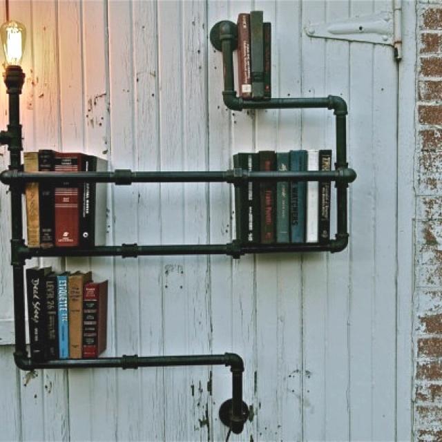 Recycled bookshelf :)