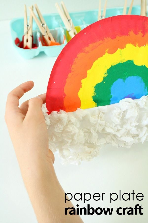 paper plate rainbow craft 9644 best creative activities for images on 5113