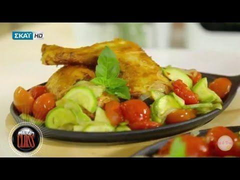 Κοτόπουλο στο χαρτί με πάπρικα και μουστάρδα - Master Class (ΣΚΑΪ, 08/01...