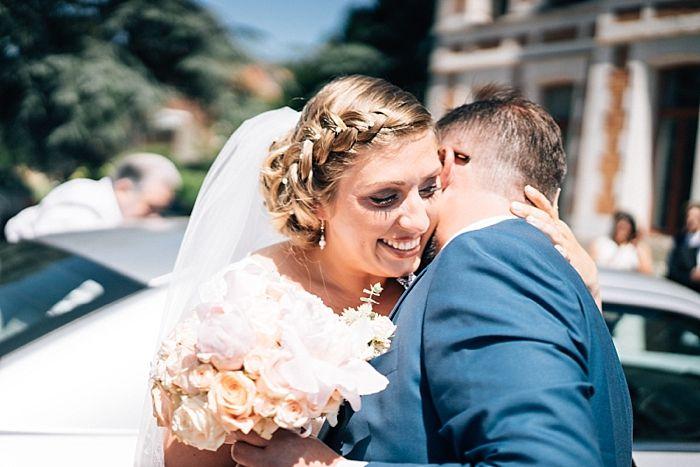 Mariage vintage romantique {Alexandra et Olivier}