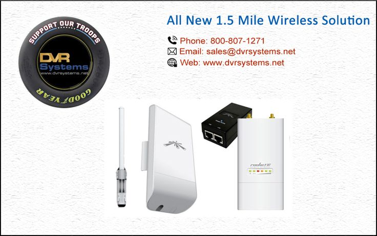 All New 1.5 Mile Wireless Solution @ http://goo.gl/DY4HUa #Security_DVR_Systems #Mobile_NVR #Custom_Built_DVR_Systems #HD_TVI_DVR #IP_Network_CCTV_Cameras #HD_TVI_PTZ_Cameras