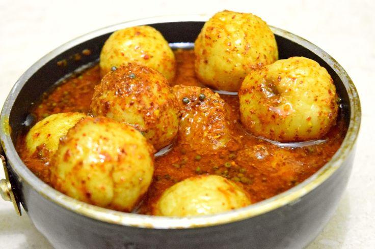 Poorni's Easy Cookbook: Gooseberry pickle/ Nellikaayi Uppinakaayi/ Amla Ac...
