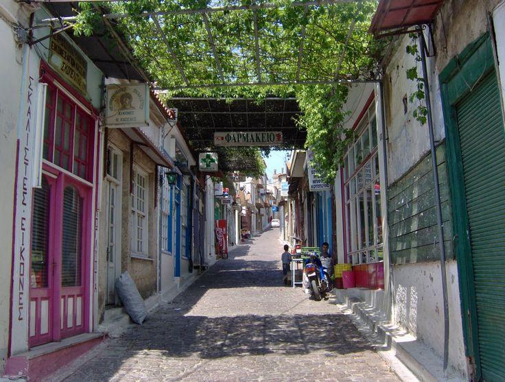 Lesbos Agiassos, Agora | Greece.com | http://lesbos-eiland.webs.com