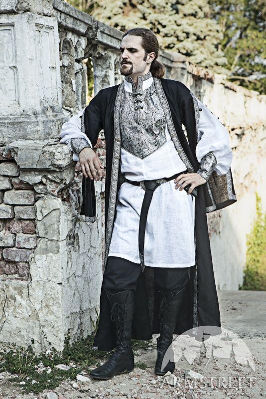 Cappotto di Lino Costume di Europa Orientale http://armstreetitaly.com/negozio/abiti/cappotto-di-lino-costume-di-europa-orientale