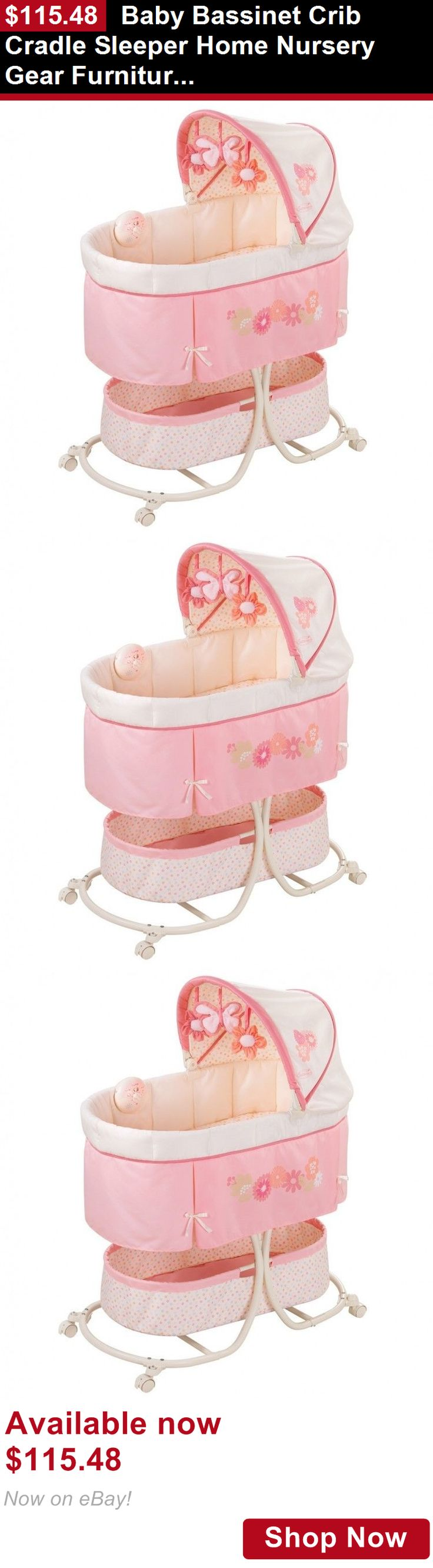 Baby bed ebay india - Bassinets And Cradles Baby Bassinet Crib Cradle Sleeper Home Nursery Gear Furniture Infant Beds Buy