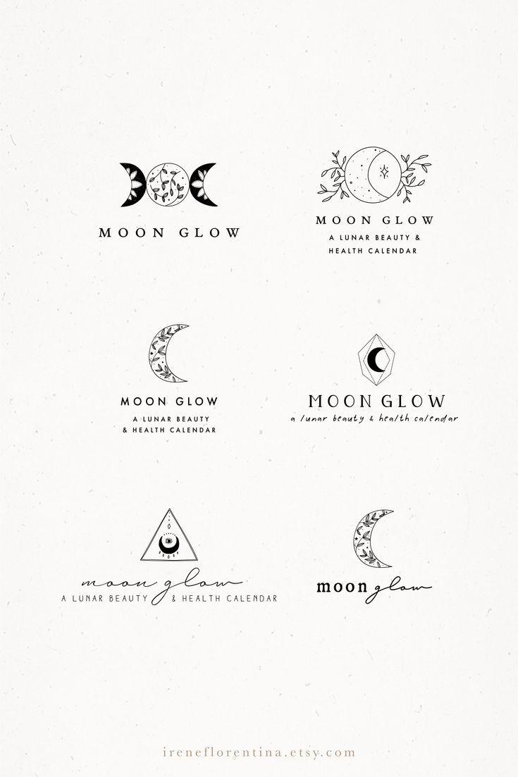 Hand drawn, rustic, organic logo design. Aa …