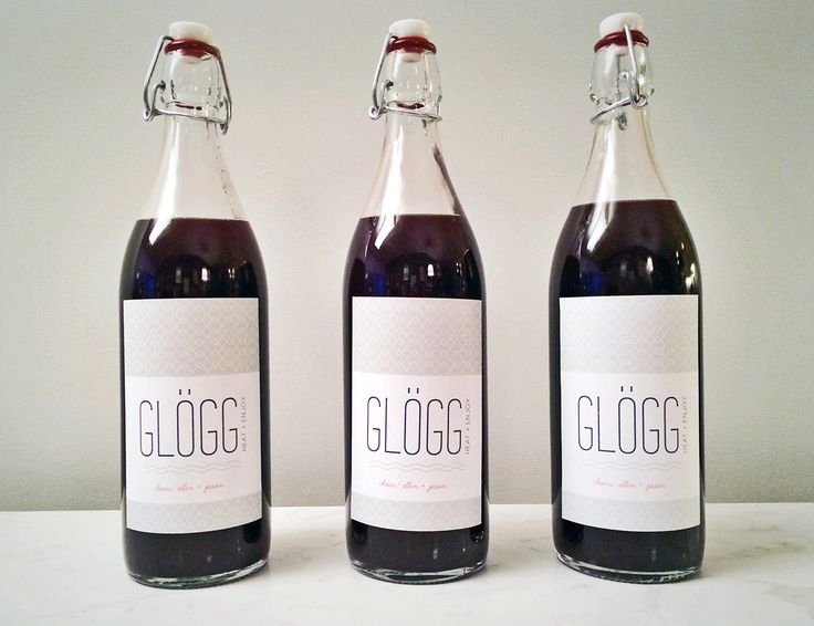 Make a #Homemade pre-mixed cocktail / glögg to serve to #party guests or give as a hostess gift! #NYE